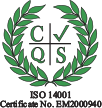 ISO 14001 certificate icon