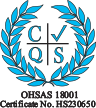 ISO 18001 certificate icon