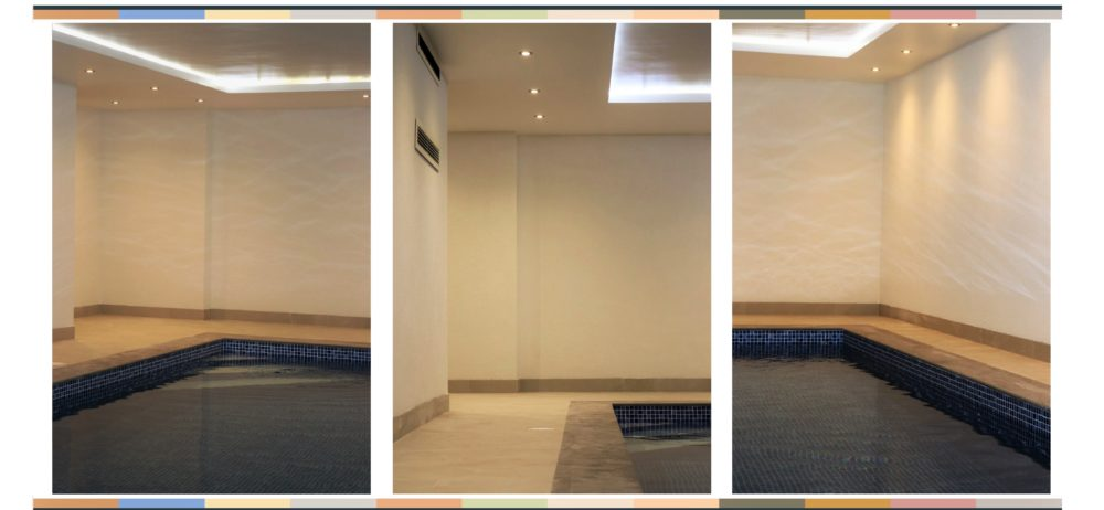 Swimming Pool in SR15 Marble White